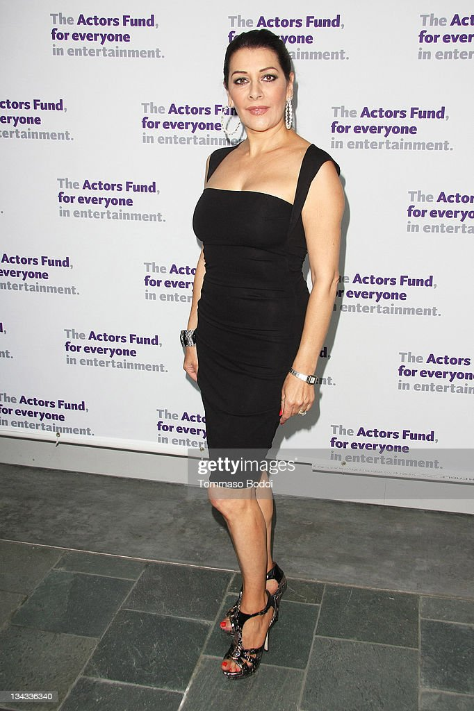 Actress Marini Sirtis attends the Actors' Fund's 15th annual Tony Awards party held at the Skirball Cultural Center on June 12, 2011 in Los Angeles, California.
