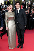 Actress Marion Cotillard and actor Louis Garrel attend the 'From The Land Of The Moon ' premiere during the 69th annual Cannes Film Festival at the...