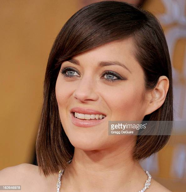 Actress Marion Cotillard arrives at the 19th Annual Screen Actors Guild Awards at The Shrine Auditorium on January 27 2013 in Los Angeles California