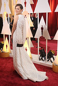 Actress Marion Cotillard arrives at the 87th Annual Academy Awards at Hollywood Highland Center on February 22 2015 in Hollywood California