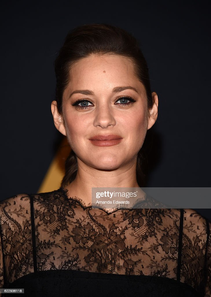 Actress Marion Cotillard arrives at the Academy of Motion Picture Arts and Sciences' 8th Annual Governors Awards at The Ray Dolby Ballroom at Hollywood & Highland Center on November 12, 2016 in Hollywood, California.