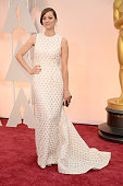 Actress Marion Cotillard arrives in Chopard to the 87th Annual Academy Awards at Hollywood Highland Center on February 22 2015 in Hollywood California