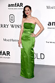 Actress Marion Cotillard attends amfAR's 22nd Cinema Against AIDS Gala Presented By Bold Films And Harry Winston at Hotel du CapEdenRoc on May 21...