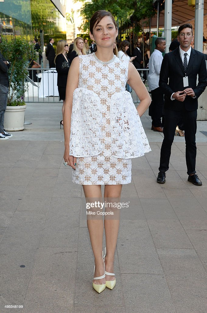 Actress Marion Cotillard attends the 2014 CFDA fashion awards at Alice Tully Hall, Lincoln Center on June 2, 2014 in New York City.
