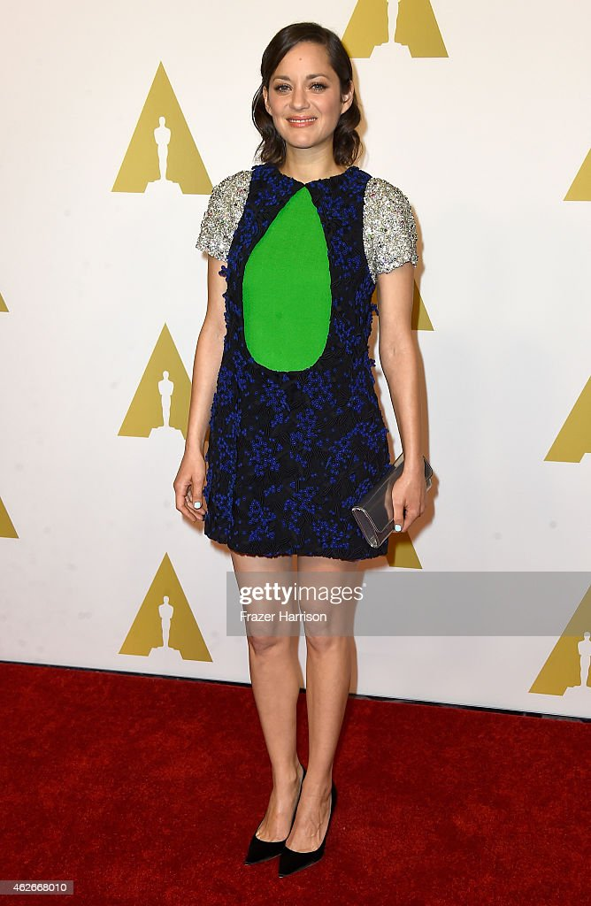Actress Marion Cotillard attends the 87th Annual Academy Awards Nominee Luncheon at The Beverly Hilton Hotel on February 2 2015 in Beverly Hills...