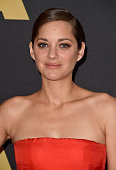 Actress Marion Cotillard attends the Academy Of Motion Picture Arts And Sciences' 2014 Governors Awards at The Ray Dolby Ballroom at Hollywood...