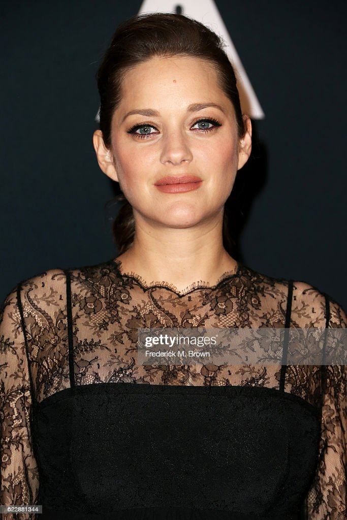 Actress Marion Cotillard attends the Academy of Motion Picture Arts and Sciences' 8th annual Governors Awards at The Ray Dolby Ballroom at Hollywood & Highland Center on November 12, 2016 in Hollywood, California.