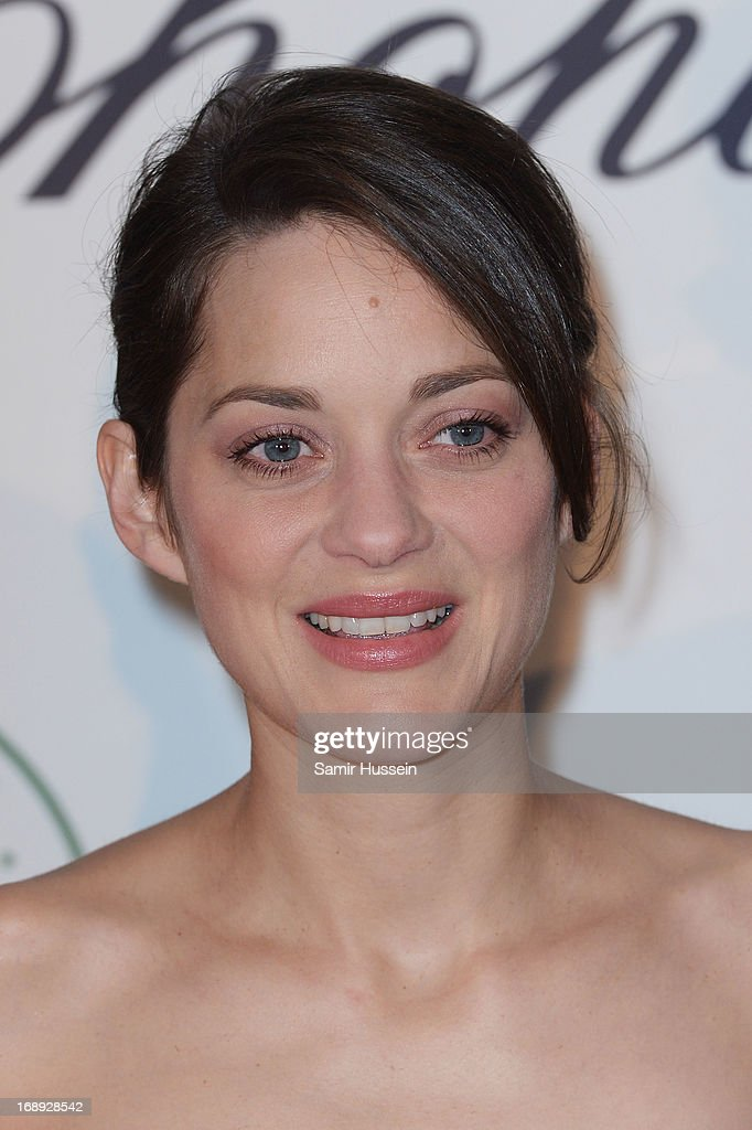 Actress Marion Cotillard attends the Chopard Lunch during the 66th Annual Cannes Film Festival on May 17, 2013 in Cannes, France.