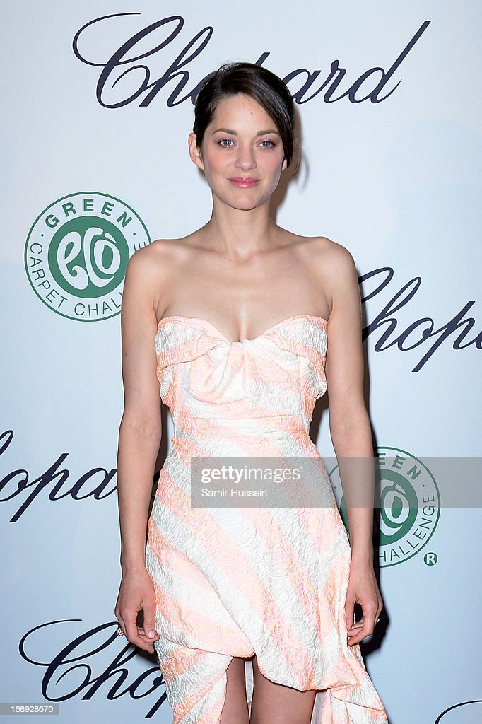 Actress <a gi-track='captionPersonalityLinkClicked' href=/galleries/search?phrase=Marion+Cotillard&family=editorial&specificpeople=215303 ng-click='$event.stopPropagation()'>Marion Cotillard</a> attends the Chopard Lunch during the 66th Annual Cannes Film Festival on May 17, 2013 in Cannes, France.
