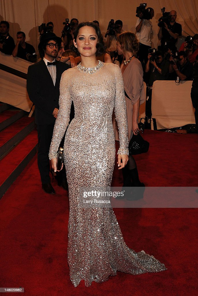 Actress Marion Cotillard attends the Costume Institute Gala Benefit to celebrate the opening of the 'American Woman: Fashioning a National Identity' exhibition at The Metropolitan Museum of Art on May 3, 2010 in New York City.