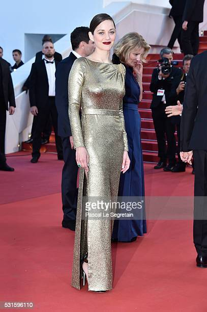 Actress Marion Cotillard attends the 'From The Land Of The Moon ' premiere during the 69th annual Cannes Film Festival at the Palais des Festivals on...