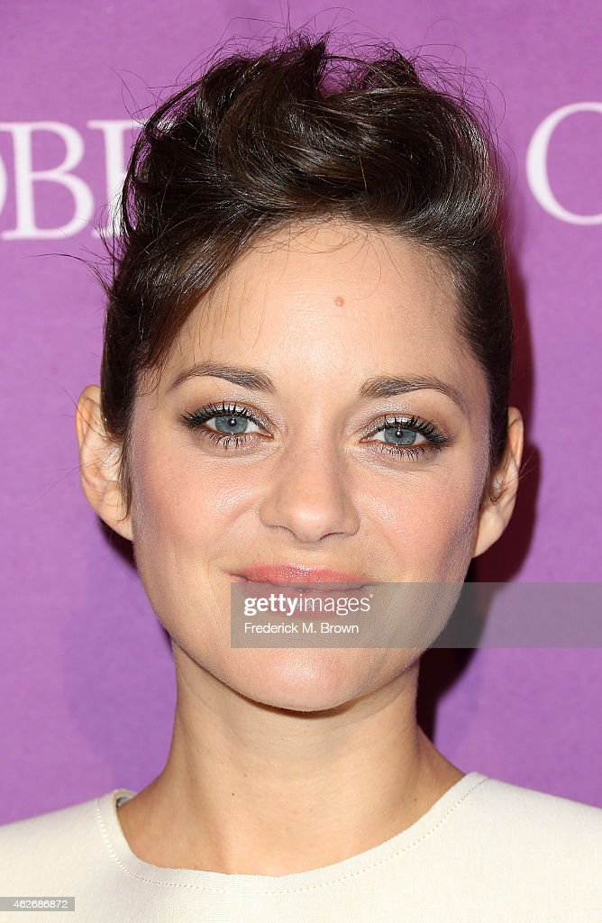 Actress <a gi-track='captionPersonalityLinkClicked' href=/galleries/search?phrase=Marion+Cotillard&family=editorial&specificpeople=215303 ng-click='$event.stopPropagation()'>Marion Cotillard</a> attends The Hollywood Reporter's Annual Oscar Nominees Night Party at Spago on February 2, 2015 in Beverly Hills, California.