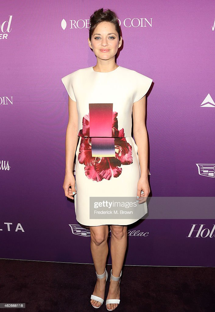 Actress Marion Cotillard attends The Hollywood Reporter's Annual Oscar Nominees Night Party at Spago on February 2, 2015 in Beverly Hills, California.