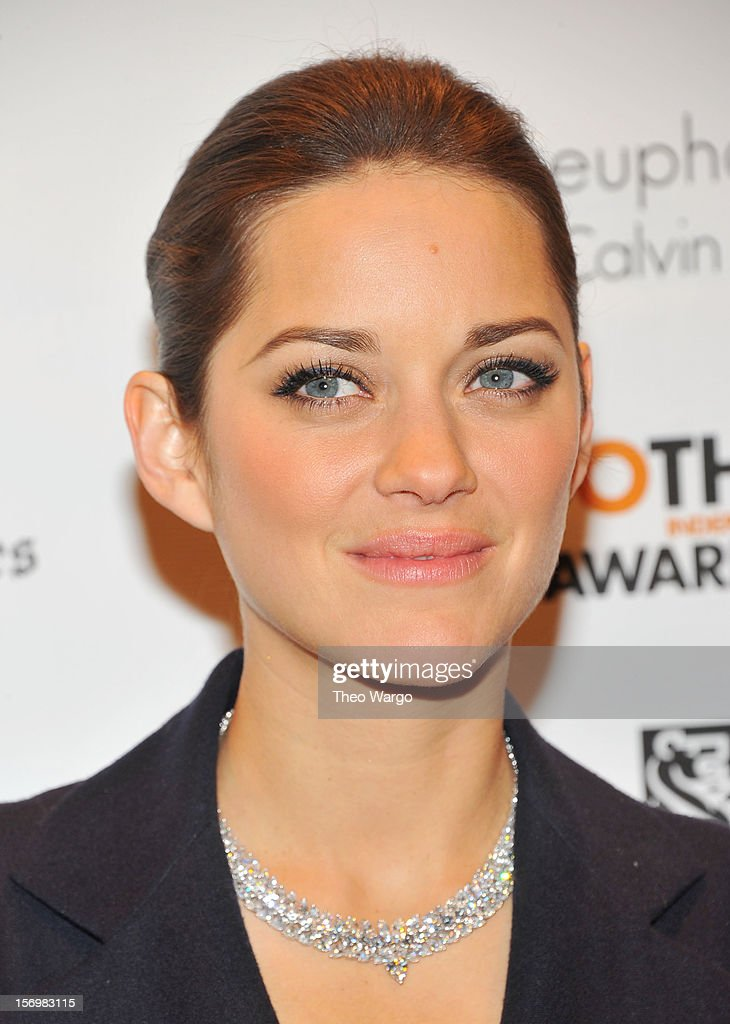 Actress Marion Cotillard attends the IFP's 22nd Annual Gotham Independent Film Awards at Cipriani Wall Street on November 26, 2012 in New York City.