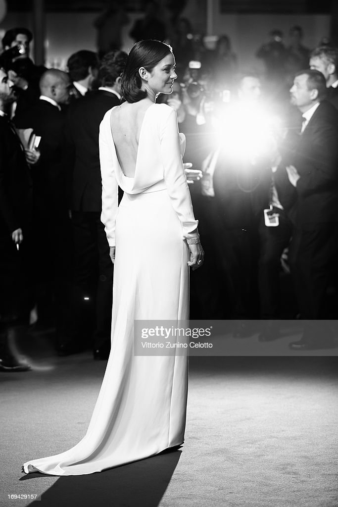 Actress Marion Cotillard attends 'The Immigrant' Premiere during the 66th Annual Cannes Film Festival on May 24, 2013 in Cannes, France.