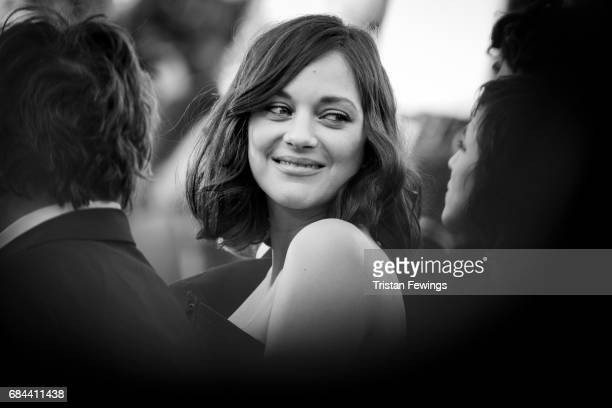 Actress Marion Cotillard attends the 'Ismael's Ghosts ' screening and Opening Gala during the 70th annual Cannes Film Festival at Palais des...