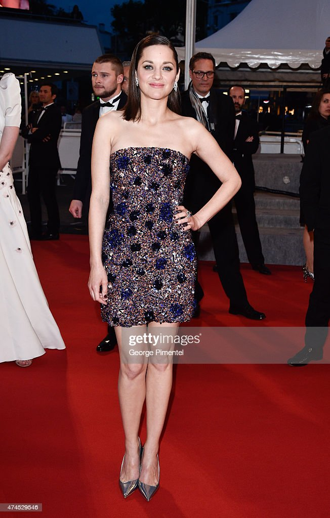 Actress Marion Cotillard attends the 'Macbeth' Premiere during the 68th annual Cannes Film Festival on May 23 2015 in Cannes France