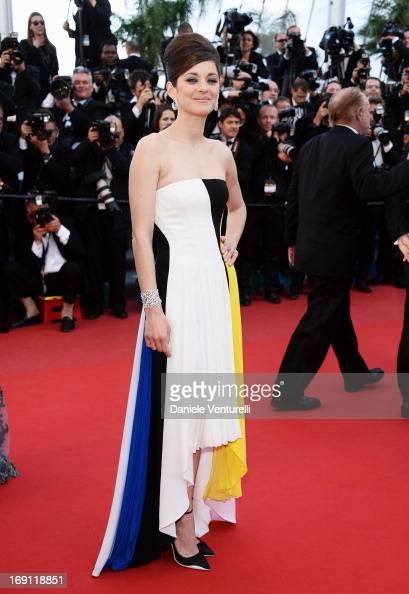 Actress Marion Cotillard attends the Premiere of 'Blood Ties' during the 66th Annual Cannes Film Festival at the Palais des Festivals on May 20 2013...