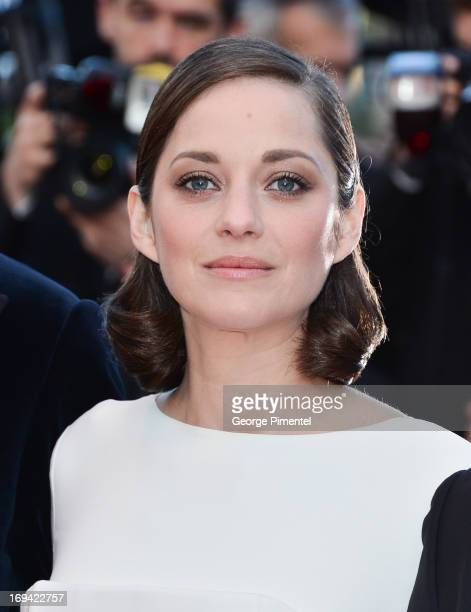 Actress Marion Cotillard attends the premiere of 'The Immigrant' at The 66th Annual Cannes Film Festival on May 24 2013 in Cannes France