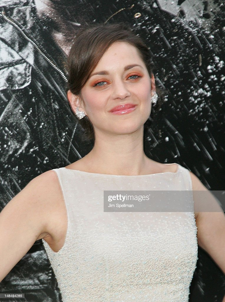Actress Marion Cotillard attends the 'The Dark Knight Rises' World Premiere at AMC Lincoln Square Theater on July 16 2012 in New York City