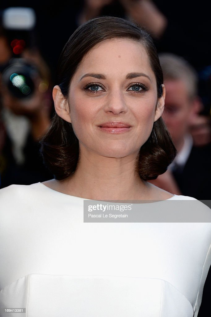Actress Marion Cotillard attends the 'The Immigrant' premiere during The 66th Annual Cannes Film Festival at the Palais des Festivals on May 24, 2013 in Cannes, France.