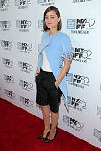 Actress Marion Cotillard attends the 'Two Days One Night' premiere during the 52nd New York Film Festival at Alice Tully Hall on October 5 2014 in...