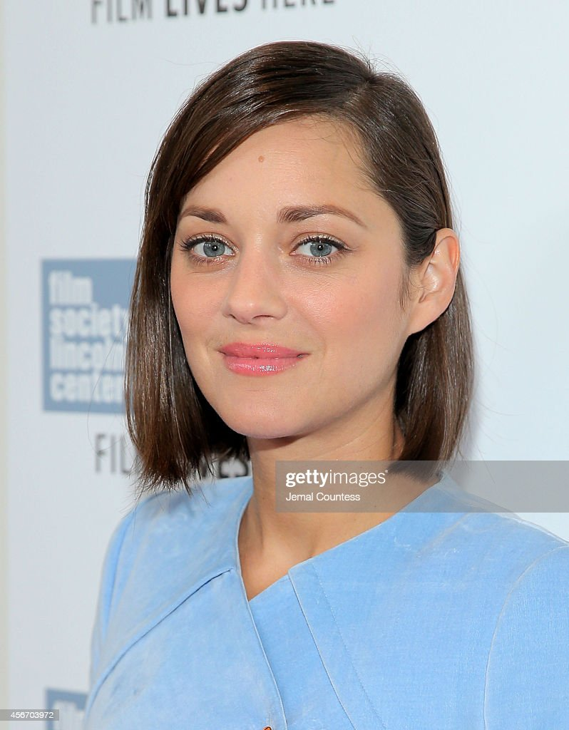 Actress <a gi-track='captionPersonalityLinkClicked' href=/galleries/search?phrase=Marion+Cotillard&family=editorial&specificpeople=215303 ng-click='$event.stopPropagation()'>Marion Cotillard</a> attends the 'Two Days, One Night' premiere during the 52nd New York Film Festival at Alice Tully Hall on October 5, 2014 in New York City.