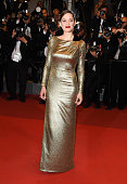 Actress Marion Cotillard departs from the screening of 'From The Land Of The Moon ' at the annual 69th Cannes Film Festival at Palais des Festivals...