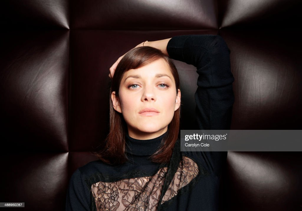 Actress Marion Cotillard is photographed for Los Angeles Times on May 4, 2014 in New York City. PUBLISHED IMAGE.