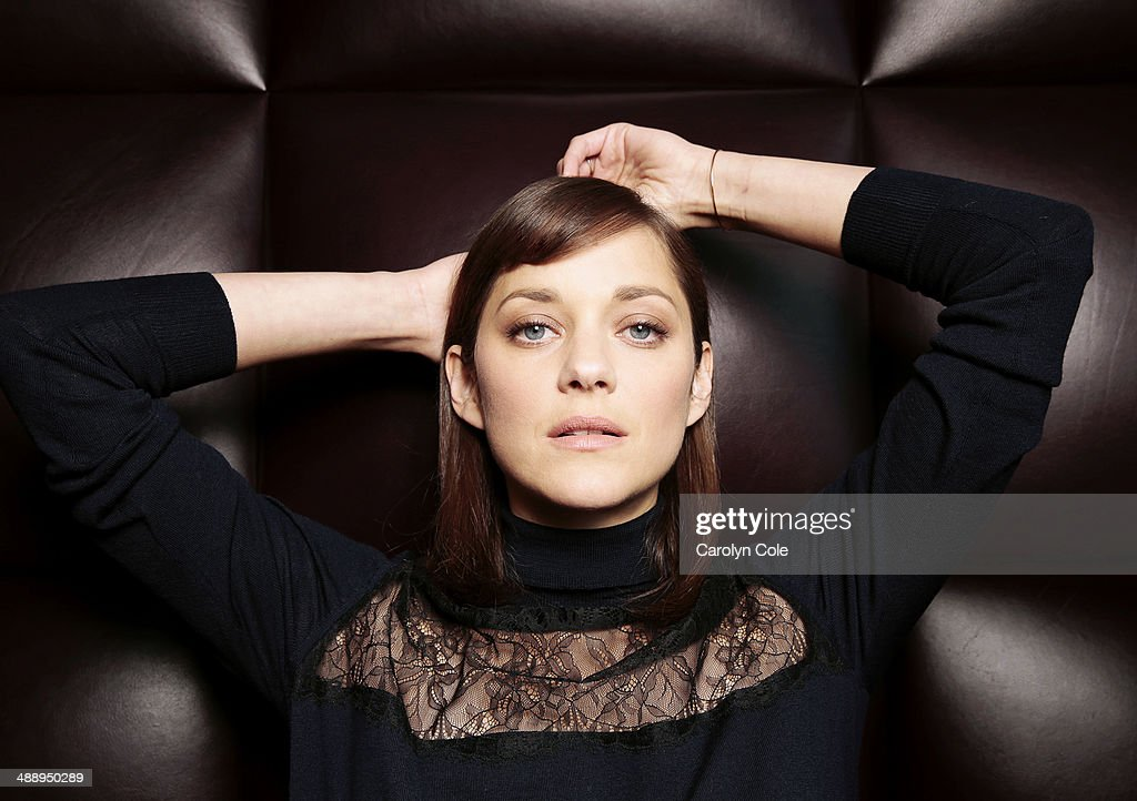 Actress <a gi-track='captionPersonalityLinkClicked' href=/galleries/search?phrase=Marion+Cotillard&family=editorial&specificpeople=215303 ng-click='$event.stopPropagation()'>Marion Cotillard</a> is photographed for Los Angeles Times on May 4, 2014 in New York City. PUBLISHED IMAGE.