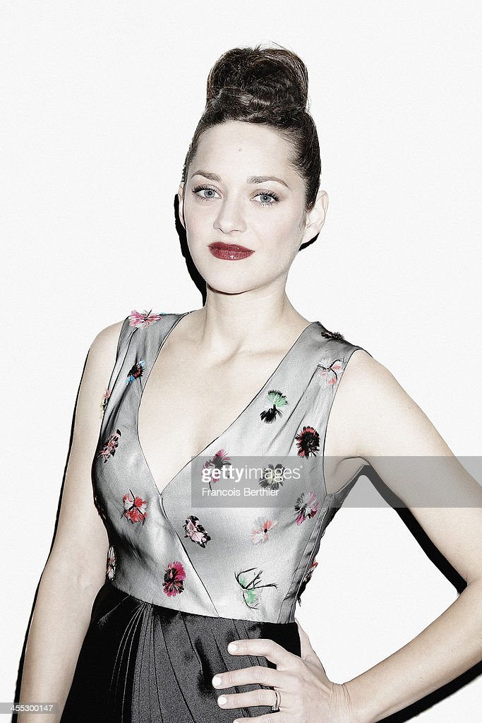Actress <a gi-track='captionPersonalityLinkClicked' href=/galleries/search?phrase=Marion+Cotillard&family=editorial&specificpeople=215303 ng-click='$event.stopPropagation()'>Marion Cotillard</a> is photographed for Self Assignment during the 13th Marrakech Film Festiva on December 2, 2013 in Marrakech, Morocco.