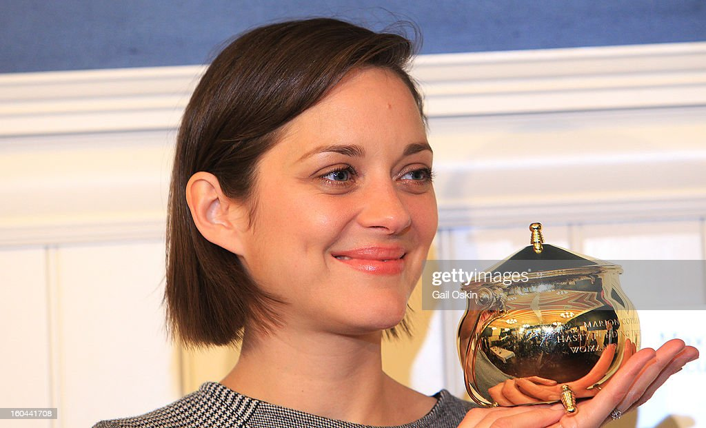 Actress Marion Cottilard attends the Hasty Pudding Theatricals 2013 Woman Of The Year Honoring Marion Cottilard, on January 31, 2013 in Cambridge, Massachusetts.