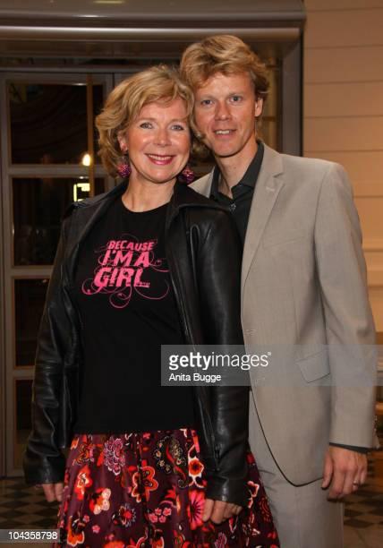 Actress Marion Kracht and hr husband Bertold Manns attend the 'International Girls Day 2010' a Children's Fund event for girls in Third World...