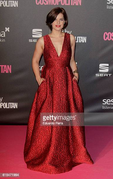 Actress Mariona Ribas attends the 'Cosmopolitan Fun Fearless Female' awards 2016 at La Riviera Disco on October 18 2016 in Madrid Spain