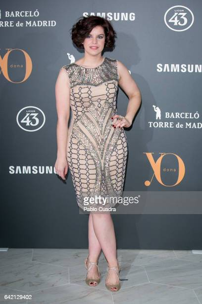 Actress Mariona Ribas attends the 'Yo Dona' party that inaugurates MercedesBenz Fashion Week Madrid Autumn/ Winter 2017 at Barcelo Torre de Madrid...
