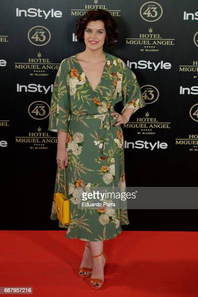 Actress Mariona Rivas attends the 'El Jardin del Miguel Angel' party photocall at Miguel Angel hotel on May 24 2017 in Madrid Spain