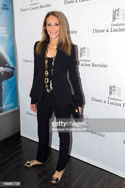 Actress Marisa Berenson attends the premiere of the film 'Les Petits Princes' at Drugstore Publicis on June 5 2013 in Paris France