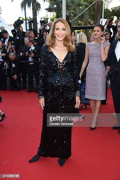 Actress Marisa Berenson attends the Premiere of 'The Little Prince' during the 68th annual Cannes Film Festival on May 22 2015 in Cannes France