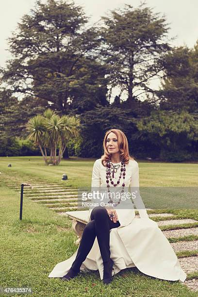 Actress Marisa Berenson is photographed for Self Assignment on May 15 2015 in Cannes France