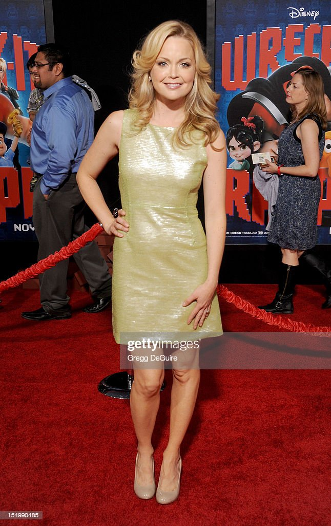 Actress Marisa Coughlan arrives at the Los Angeles premiere of 'Wreck-It Ralph' at the El Capitan Theatre on October 29, 2012 in Hollywood, California.