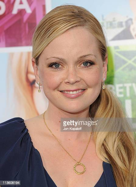 Actress Marisa Coughlan arrives at the Los Angeles Premiere 'Something Borrowed' at Grauman's Chinese Theatre on May 3 2011 in Hollywood California