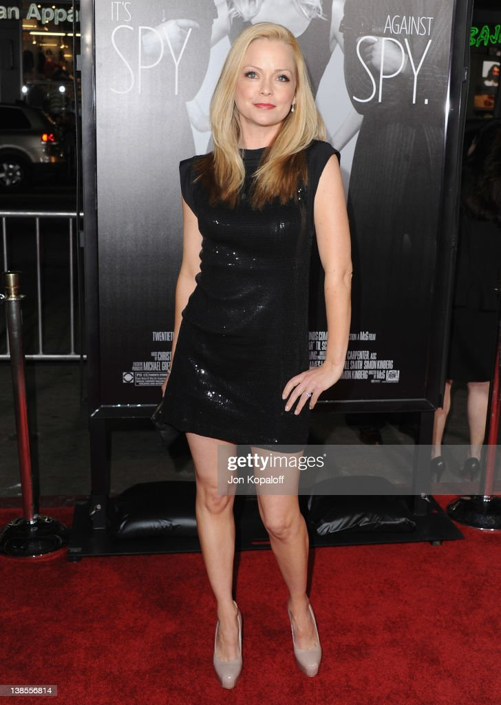 Actress <a gi-track='captionPersonalityLinkClicked' href=/galleries/search?phrase=Marisa+Coughlan&family=editorial&specificpeople=804257 ng-click='$event.stopPropagation()'>Marisa Coughlan</a> arrives at the Los Angeles Premiere 'This Means War' at Grauman's Chinese Theatre on February 8, 2012 in Hollywood, California.