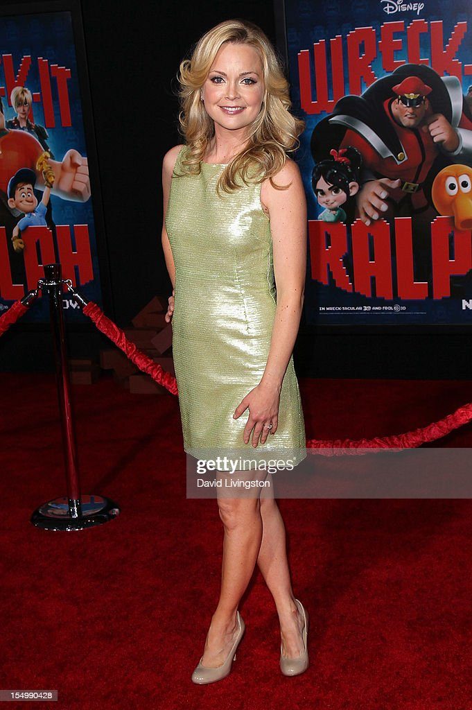 Actress Marisa Coughlan attends the premiere of Walt Disney Animation Studios' 'Wreck-It Ralph' at the El Capitan Theatre on October 29, 2012 in Hollywood, California.