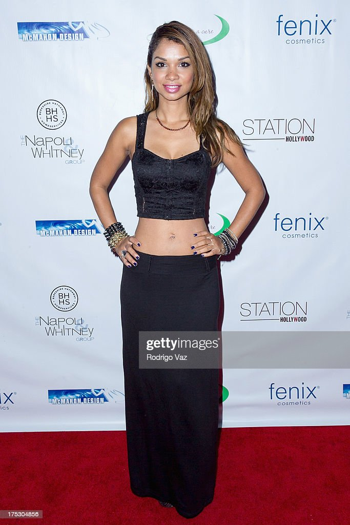 Actress Marisa Lauren arrives at Playboy Radio's Hollywood Casino Night benefiting The Leukemia & Lymphoma Society's Hodgkins Haters at W Hollywood on August 1, 2013 in Hollywood, California.