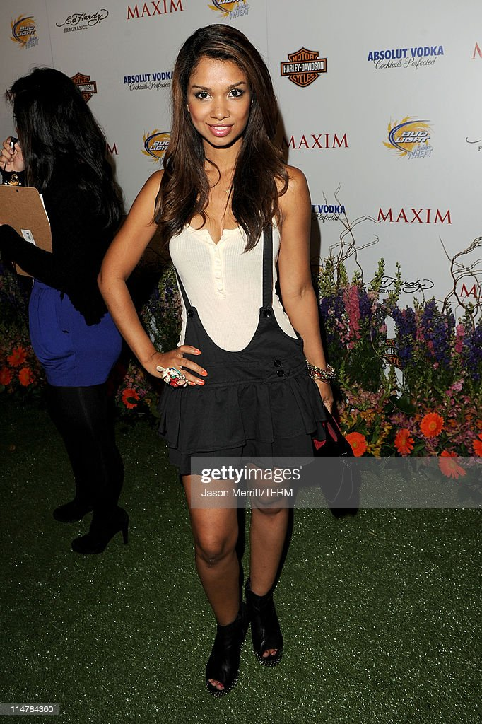 Actress Marisa Lauren arrives at the 11th annual Maxim Hot 100 Party with Harley-Davidson, ABSOLUT VODKA, Ed Hardy Fragrances, and ROGAINE held at Paramount Studios on May 19, 2010 in Los Angeles, California.