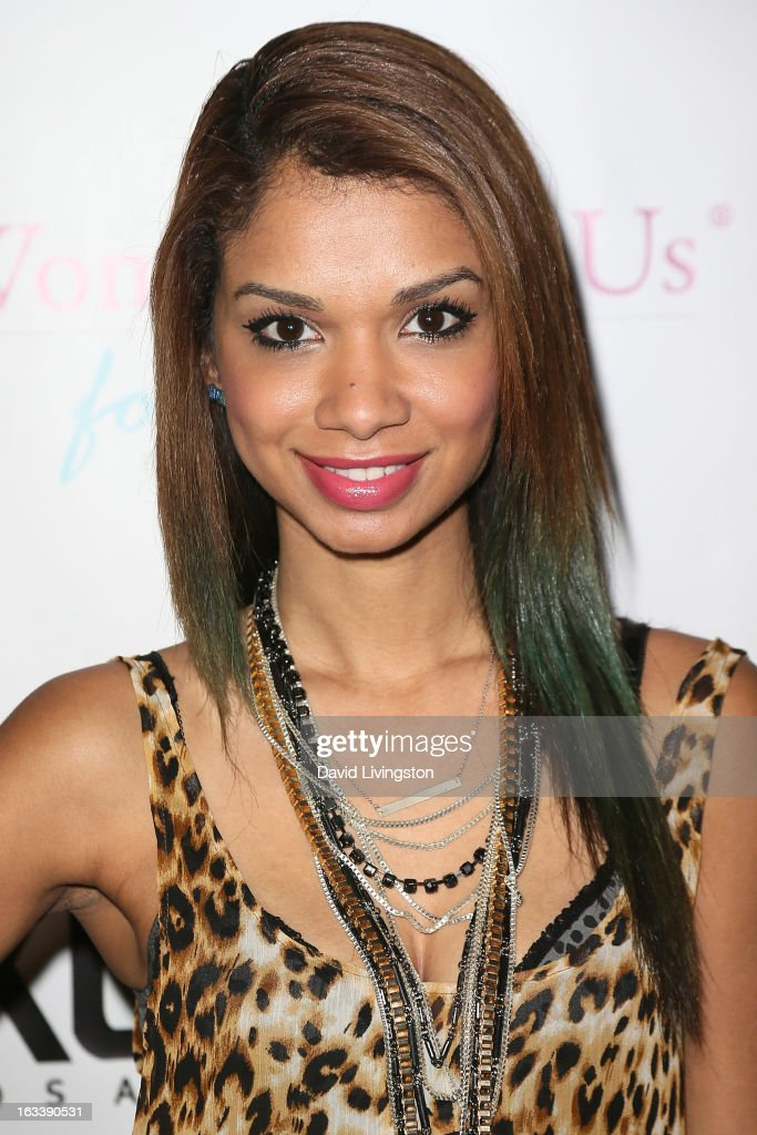 Actress Marisa Lauren attends a Pre-LAFW benefit in support of the Women Like Us Foundation at Lexington Social House on March 8, 2013 in Hollywood, California.