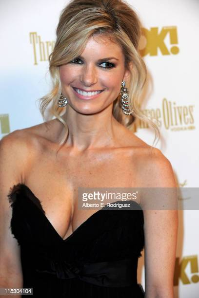Actress Marisa Miller arrives at OK Magazine's annual preOscar bash on March 5 2010 in Los Angeles California