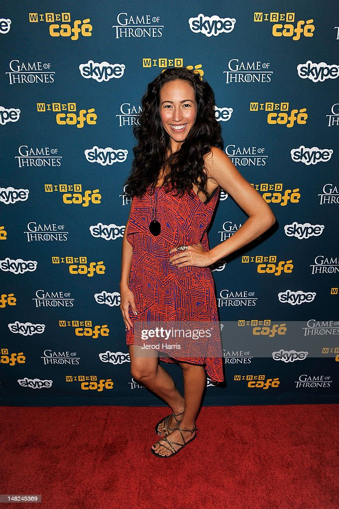 Actress <a gi-track='captionPersonalityLinkClicked' href=/galleries/search?phrase=Marisa+Quinn+-+Actress&family=editorial&specificpeople=8638700 ng-click='$event.stopPropagation()'>Marisa Quinn</a> attends WIRED Cafe at Comic-Con held at Palm Terrace at the Omni Hotel on July 12, 2012 in San Diego, California.