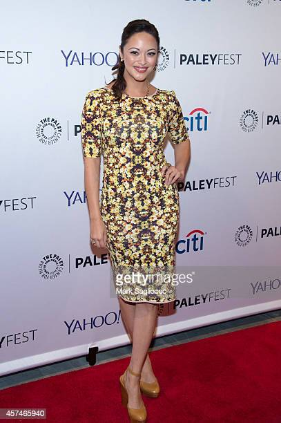 Actress Marisa Ramirez attends the 2nd Annual Paleyfest of 'Blue Bloods' at the Paley Center For Media on October 18 2014 in New York New York