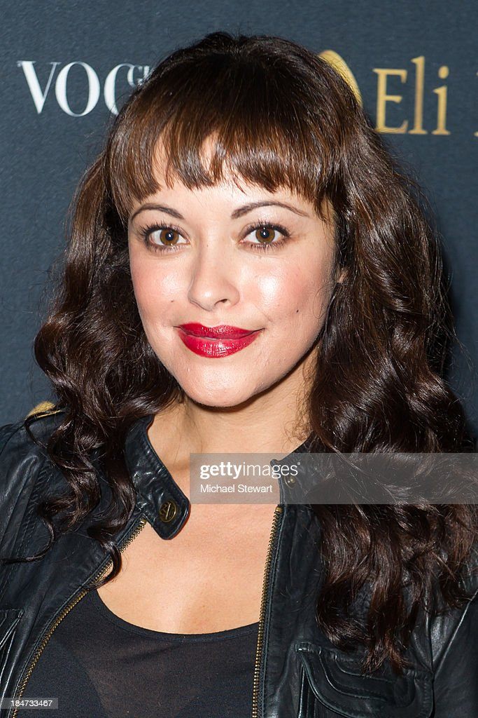 Actress <a gi-track='captionPersonalityLinkClicked' href=/galleries/search?phrase=Marisa+Ramirez&family=editorial&specificpeople=225192 ng-click='$event.stopPropagation()'>Marisa Ramirez</a> attends the Eli Halili Soho Boutique Grand Opening with Vogue Gioiello on October 15, 2013 in New York City.